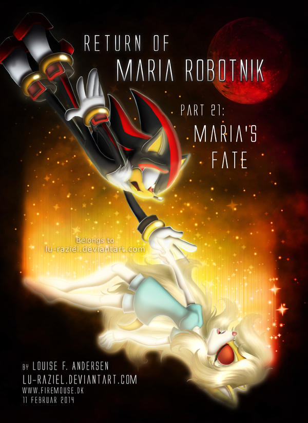 Return of Maria Robotnik Part 21 by lu-raziel