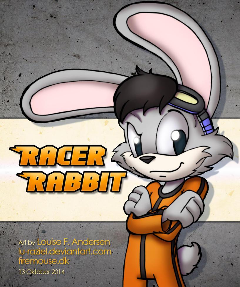 Racer Rabbit by lu-raziel