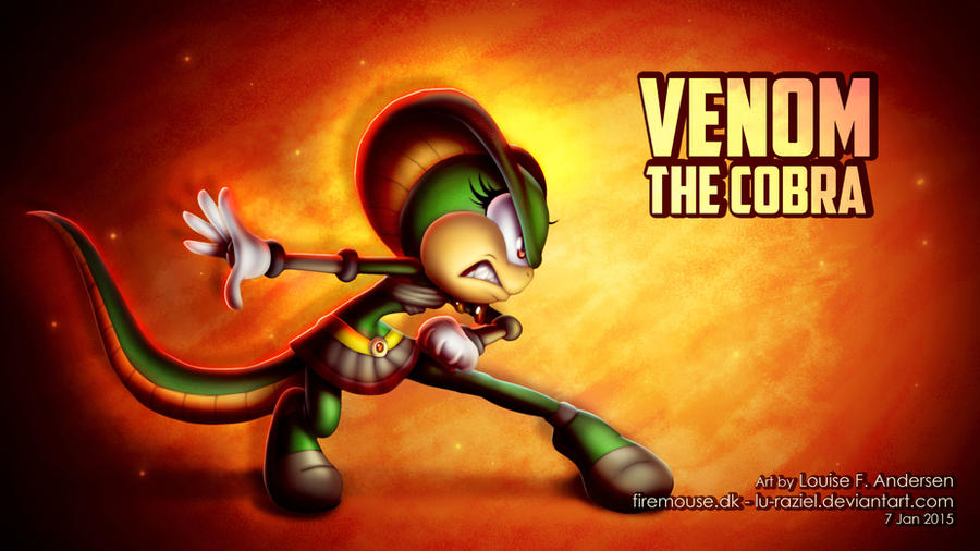 Venom the Cobra for Toni by lu-raziel