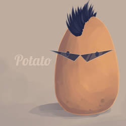 Rockstar Potato by Skinny-Potato