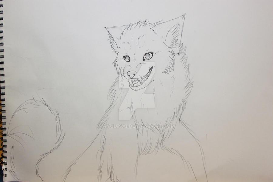Sly wolf wip by Zephyriim