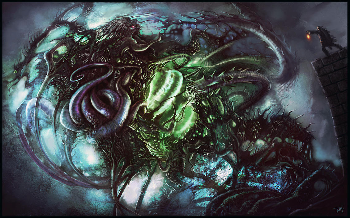Dunwich Horror by tmza