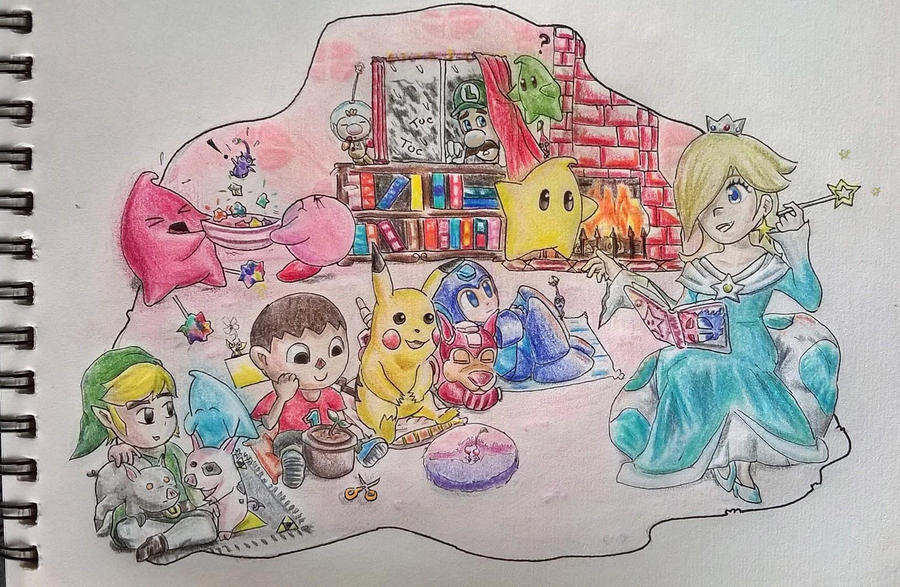 Rosalina's story time by Liowayo