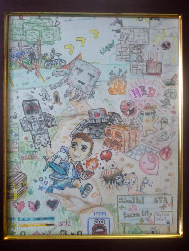 Birthday Card, ViDeO gAmE Edition! by Liowayo