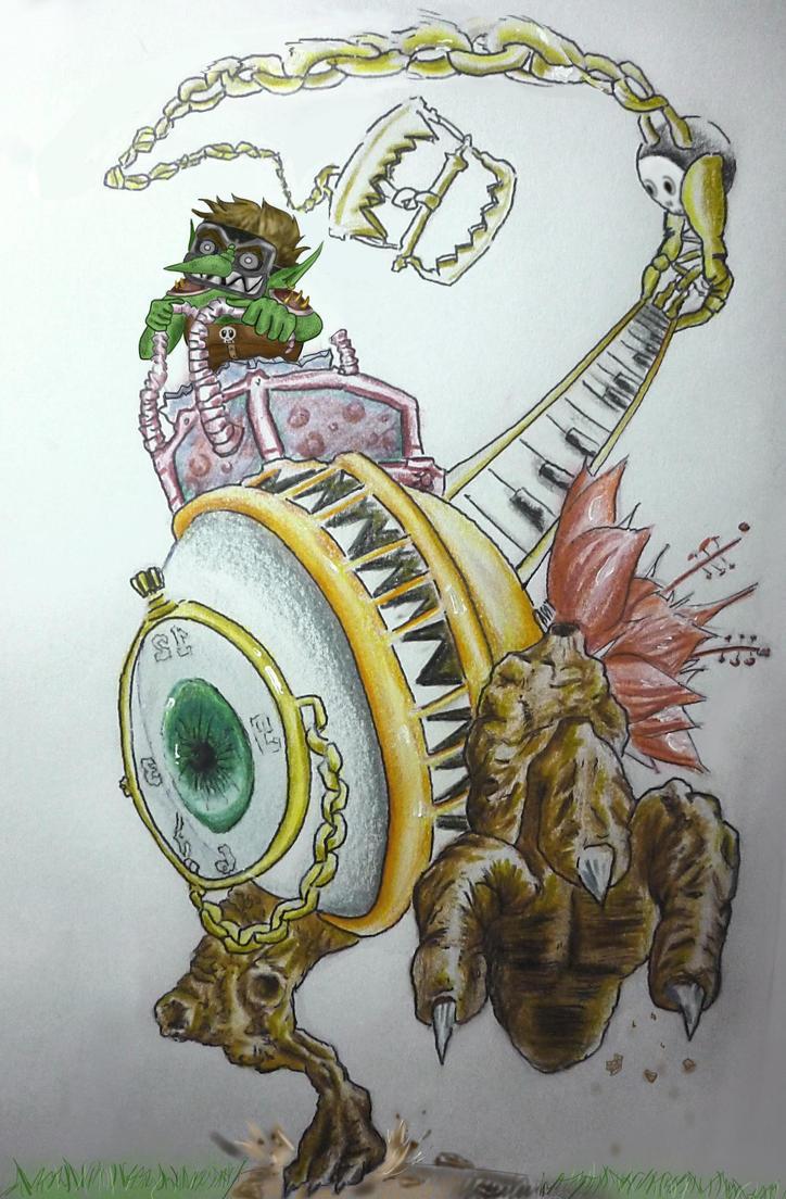 Chronosaurus Rampage by Liowayo