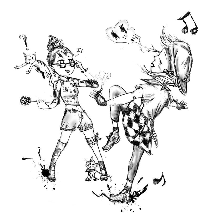 Dancing by Liowayo