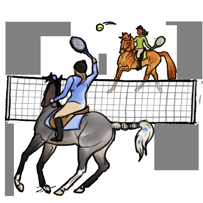 Floresto Discipline : Tennis by Shamrocky