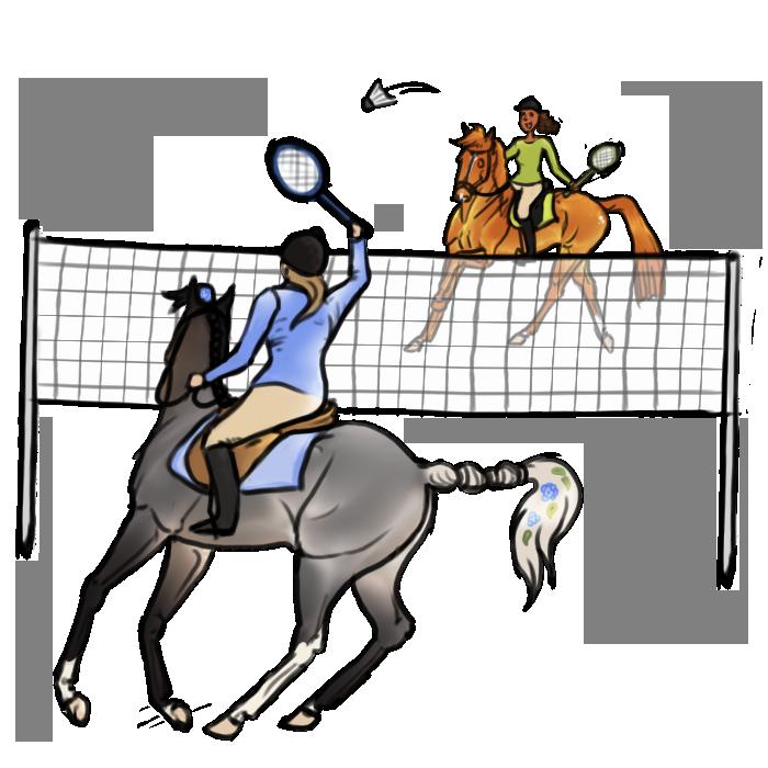 Floresto Discipline :  Badminton by Shamrocky