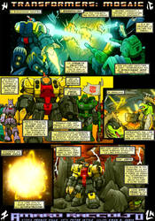 Mosaic 'Amaro raccolto' by M3Gr1ml0ck