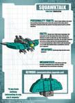 The Transformers - SoD - Squawktalk Tech Specs