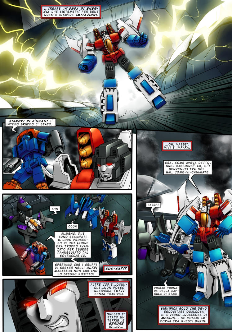 SoD Starscream page 3 ITA by M3Gr1ml0ck