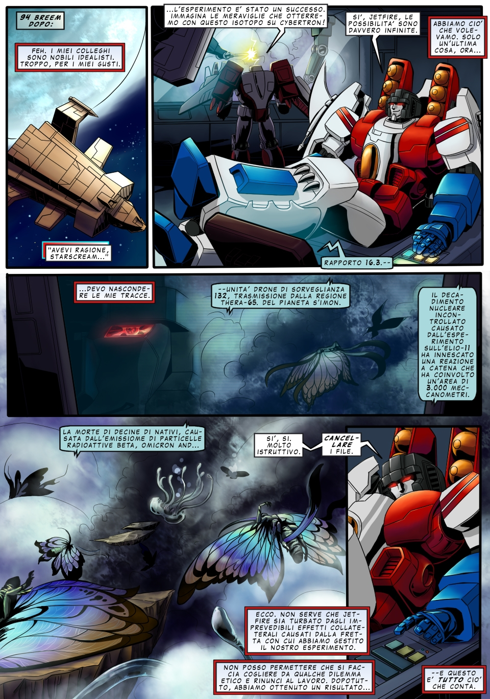 SoD Starscream page 7 ITA by M3Gr1ml0ck