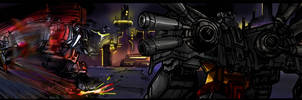Jetfire Grimlock page 9 previe by M3Gr1ml0ck