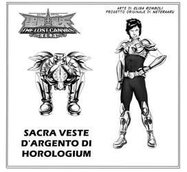 Saint Seiya - Horologium Kairos model sheet