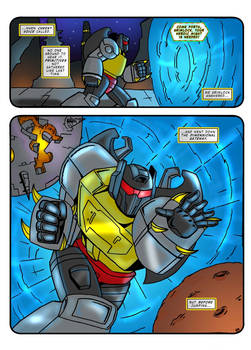 Transformers G1 - Call of the Primitive p02 - ENG