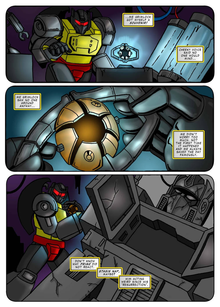 Transformers G1 - Call of the Primitive p03 - ENG by M3Gr1ml0ck