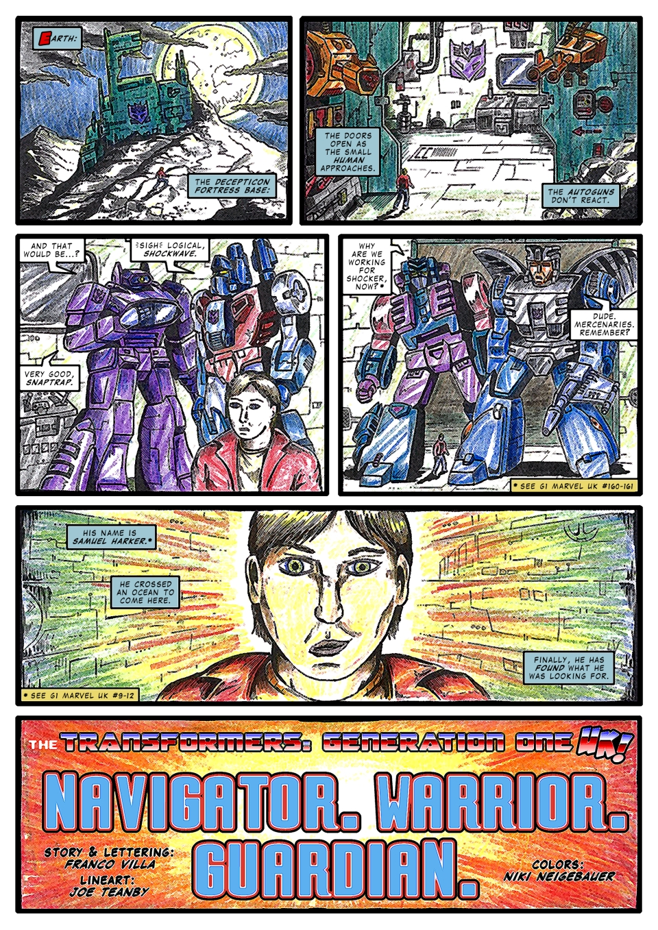 UK G1 not-Marvel 161.5 page 1 by M3Gr1ml0ck