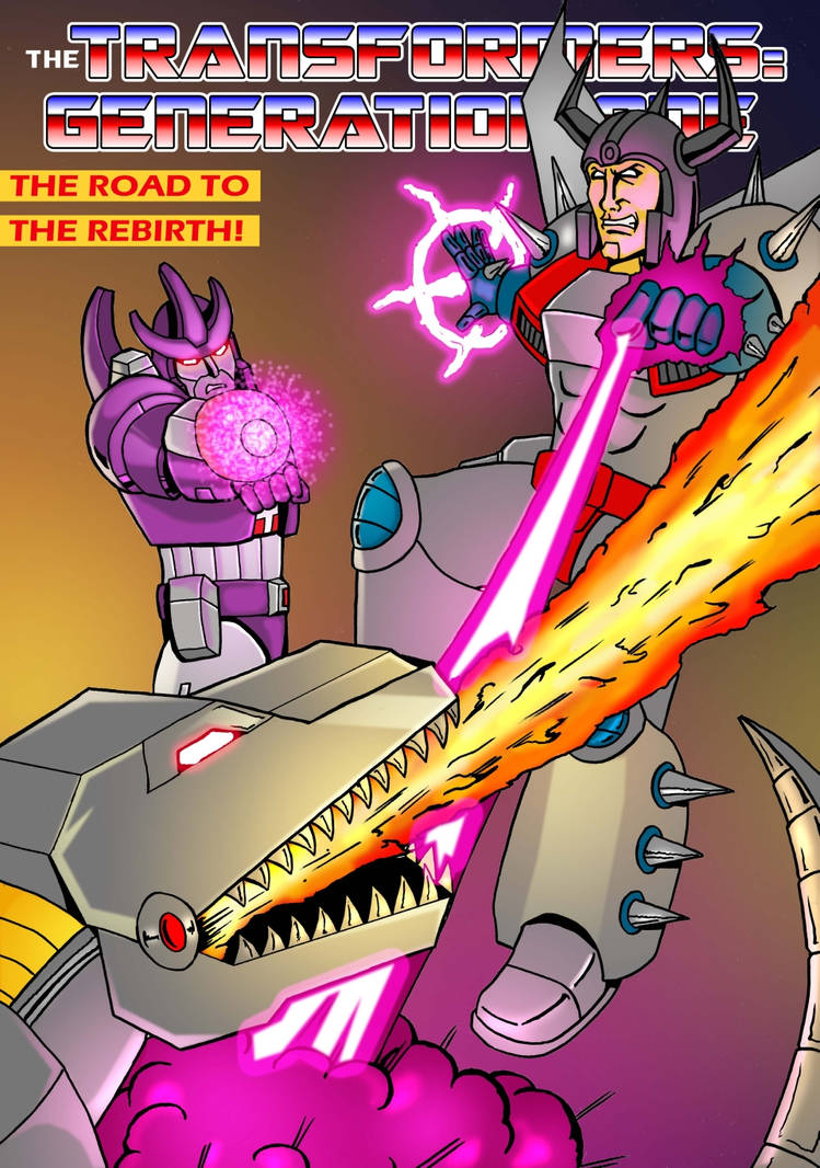 Transformers G1 - The Road to the Rebirth - Cover by M3Gr1ml0ck