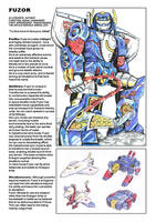 Uk G1 Untold Marvels Annual 2013 profile - Fuzor by M3Gr1ml0ck