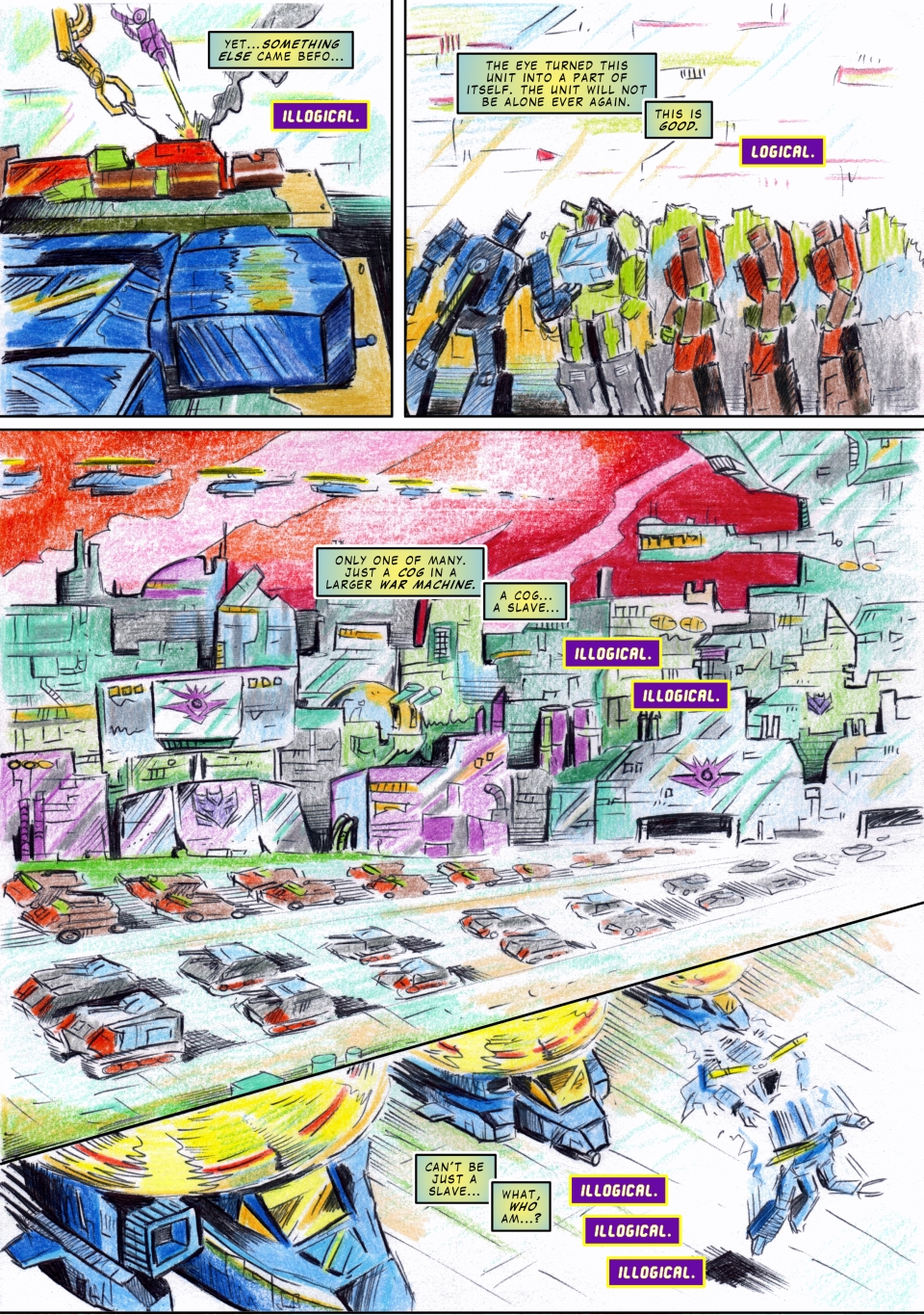 Uk G1 Untold Marvels Annual 2013 'The I' page 2