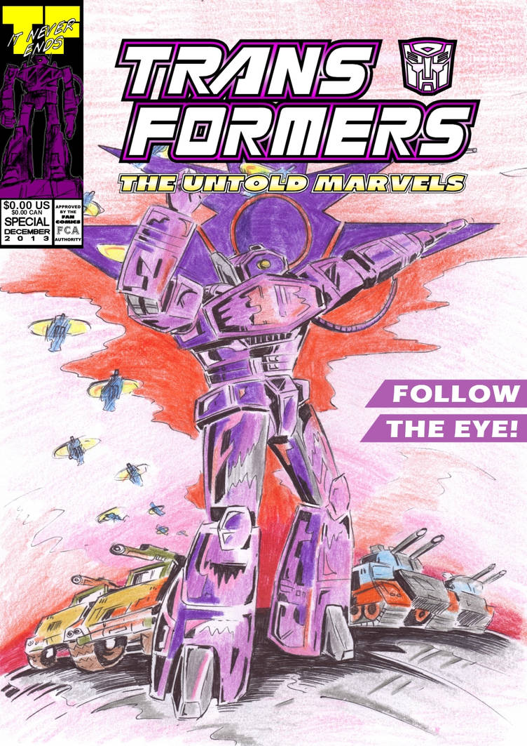 Uk G1 Untold Marvels Annual 2013 'The I' cover C by M3Gr1ml0ck