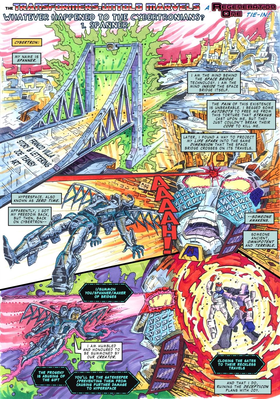 UK G1 - Untold Marvels #261.11 - Spanner by M3Gr1ml0ck