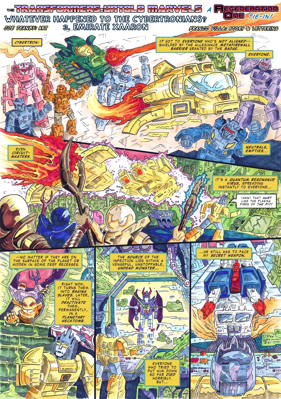 UK G1 - Untold Marvels #261.13 - Emirate Xaaron