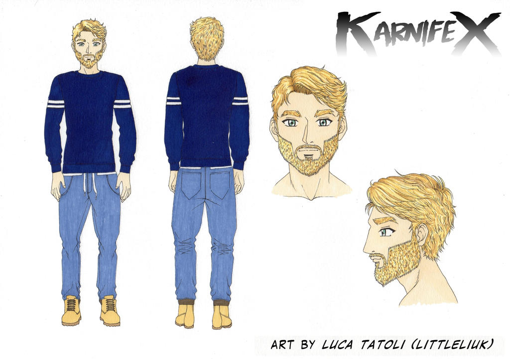 Orka Karnifex - step 0 - by Luca Tatoli by M3Gr1ml0ck
