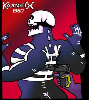 1960s reverse body-builder Karnifex - Arrested