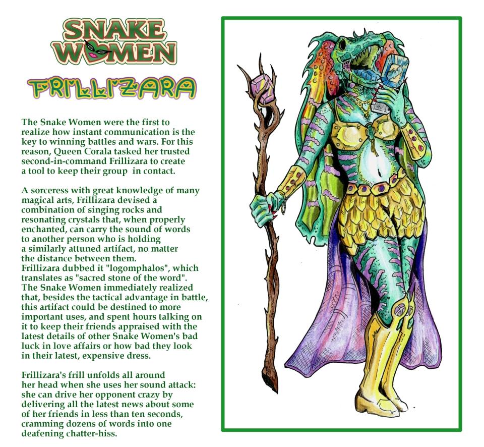 Princess of Power - Snake Women: Frillizara