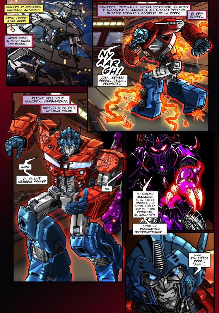 Magnificent Crisis - page 1 - ITA by M3Gr1ml0ck