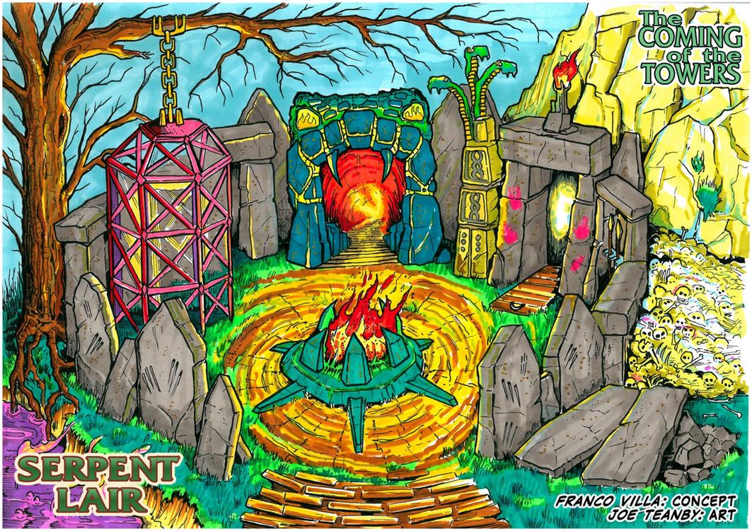 MotU PoP - Serpent Lair by M3Gr1ml0ck
