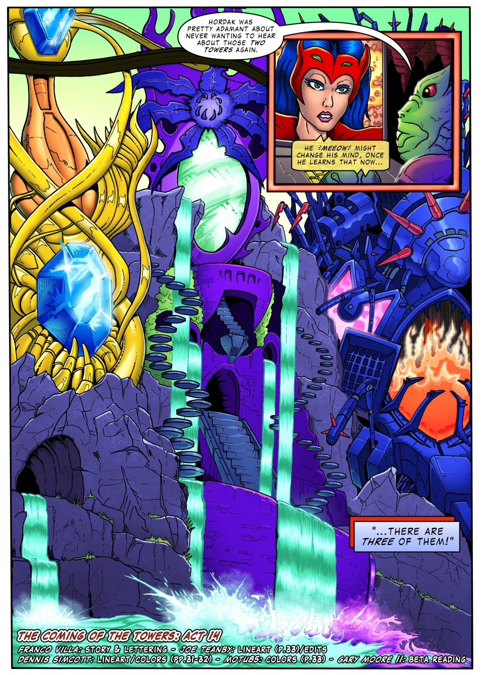 PoP/MotU - The Coming of the Towers - page 33