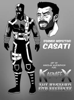 Karnifex Bastard Cop Alliance - Casati