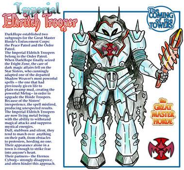 Princess of Power - Imperial Eldritch Trooper