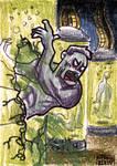 Cartoon Zombie Sketh Card 9