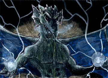 Age of Sorcery Sketch Card 7 by geralddedios