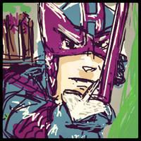 Hawkeye Draw Something