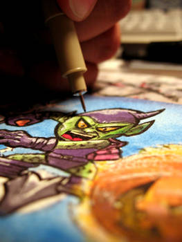 Green Goblin Sneak Peek