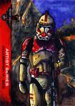 Shock Trooper sketch card 501st Legion CVI 2012