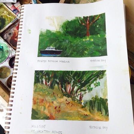 Bodega Bay Studies by geralddedios