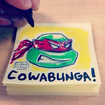 COWABUNGA! by geralddedios