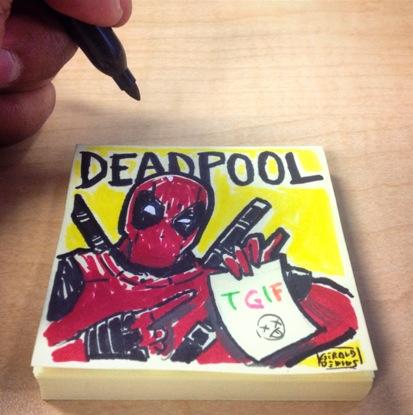 Deadpool TGIF by geralddedios