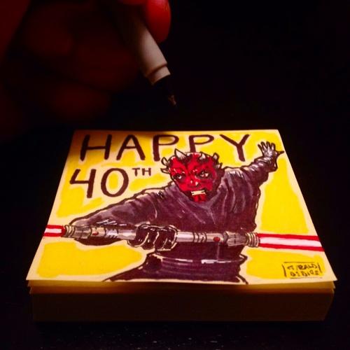 Happy 40th Birthday Ray Park aka: Darth Maul by geralddedios