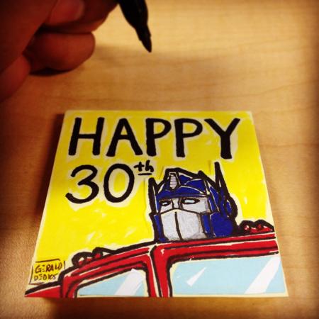30th Anniversary - Transformers by geralddedios