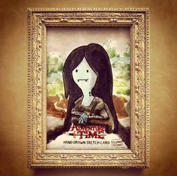 FINE ARTS - Marceline Mona Lisa