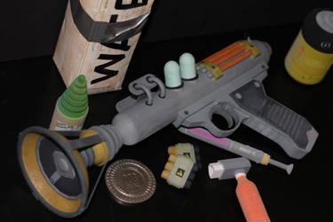 Fallout New Vegas Pulse Gun by skynetbeta