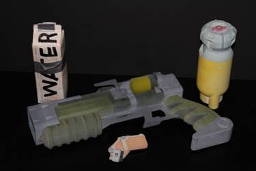 Fallout 4 Laser Pistol by skynetbeta