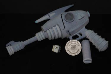 Fallout New Vegas Alien Blaster by skynetbeta