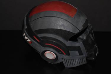 Masseffect N7 Breather Helmet by skynetbeta